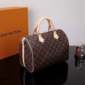 New LOUIS VUITTON Speedy 30 Handbag Purse Xmsjaifo